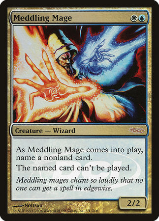 Meddling Mage [Judge Gift Cards 2006] | Nerdz Cafe
