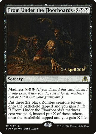 From Under the Floorboards [Shadows over Innistrad Promos] | Nerdz Cafe