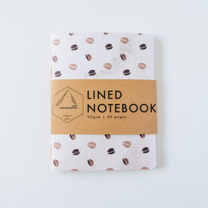 Coffee Bean | Small Lined Notebook