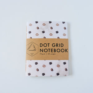 Coffee Bean | Small Dotted Notebook