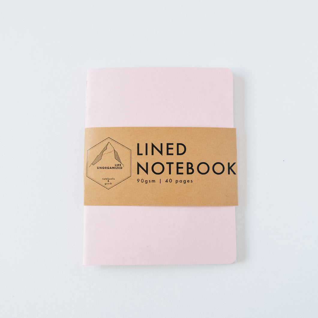 Dusty Pink | Small Lined Notebook