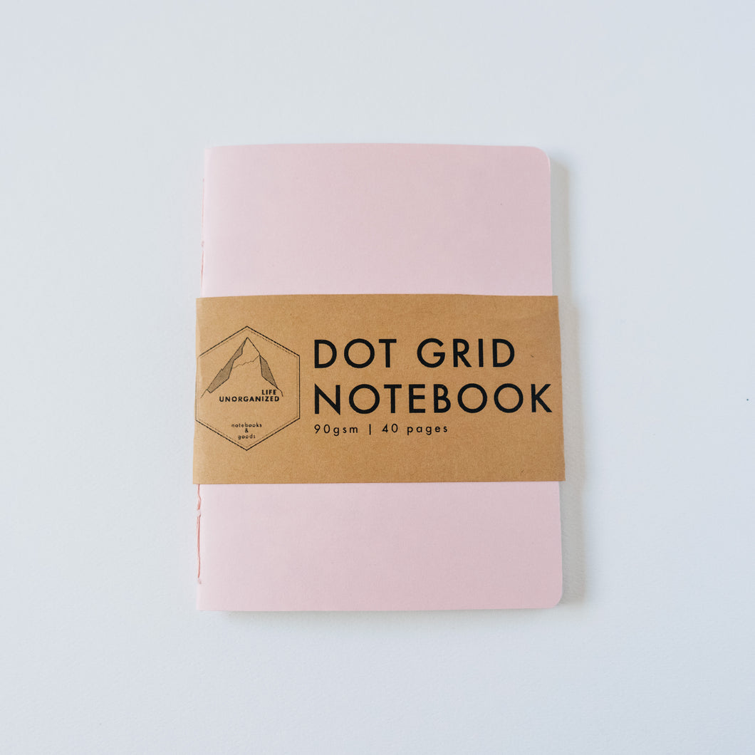 Dusty Pink | Small Dotted Notebook