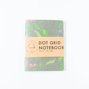 Jungle Leaves | Small Dotted Notebook