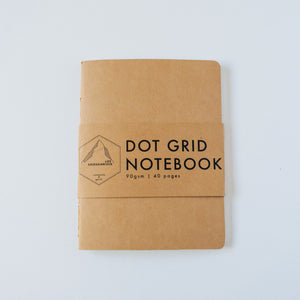 Kraft Dotted | Small Notebook