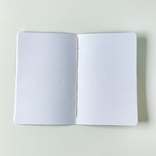 Load image into Gallery viewer, Diagonal Stripes | Large Dotted Notebook