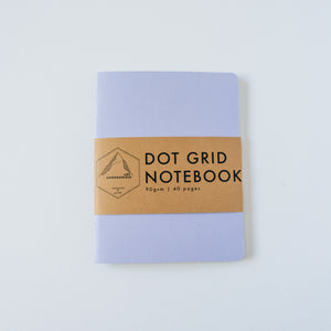 Lavender Canvas | Small Dotted Notebook