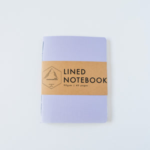 Lavender Canvas | Small Lined Notebook