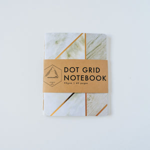 Marbled | Small Dotted Notebook