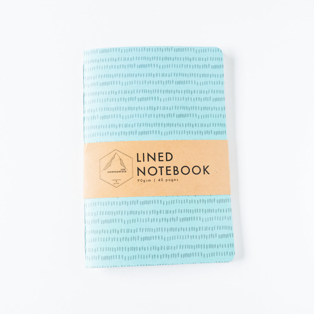 Notches | Large Lined Notebook
