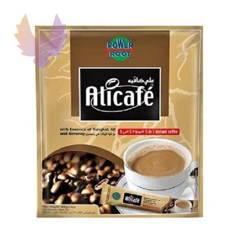 Alicafe 5 in 1 with Essence of Tongkat Ali and Ginseng Instant - coffee