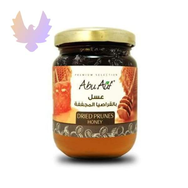 Clover Honey with Dried Prunes 250 g - honey