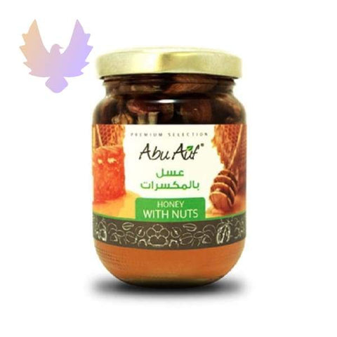 Clover Honey with Nuts 250 g - honey