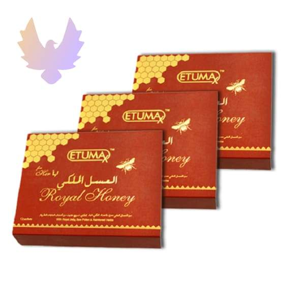 Etumax Royal Honey For Her 3 box 36 sachets - honey