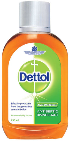 2 Bottle Dettol Antiseptic Liquid Original,250ml