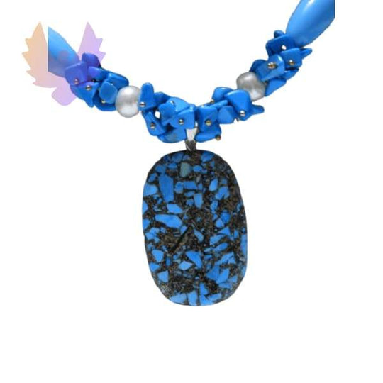Women Handmade Necklace Agate Stone With Bracelet for the beautiful woman - necklace