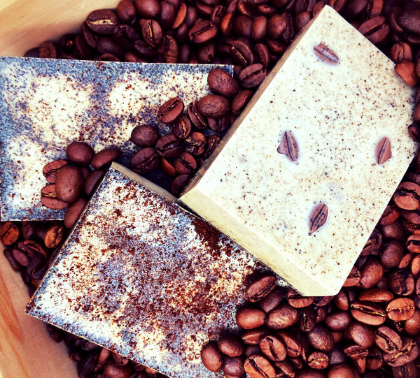 Reinvigorating Coffee Shea Butter Soap