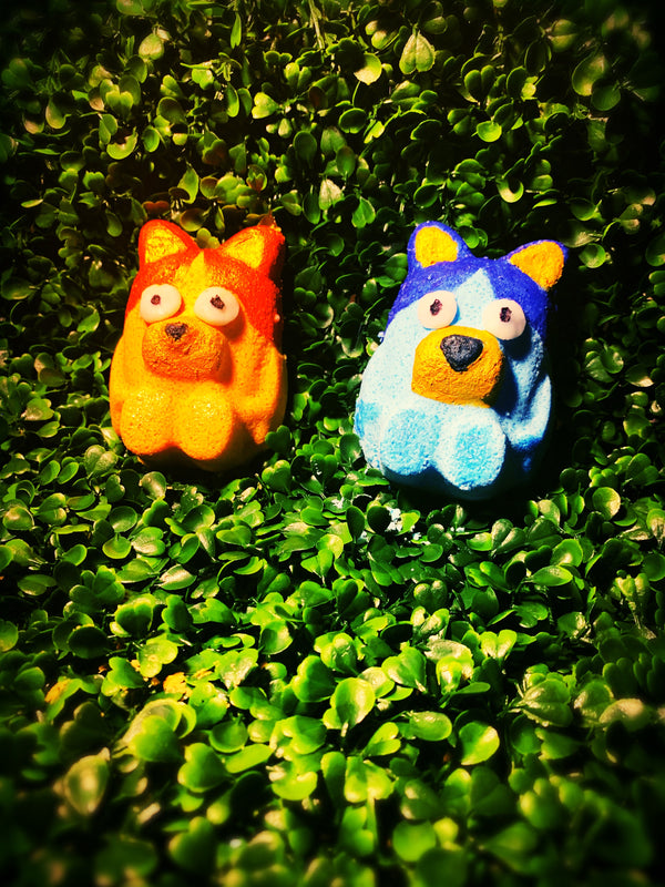 Wakadoo!!!! Bluey & Bingo Mini U Bath Bombs
