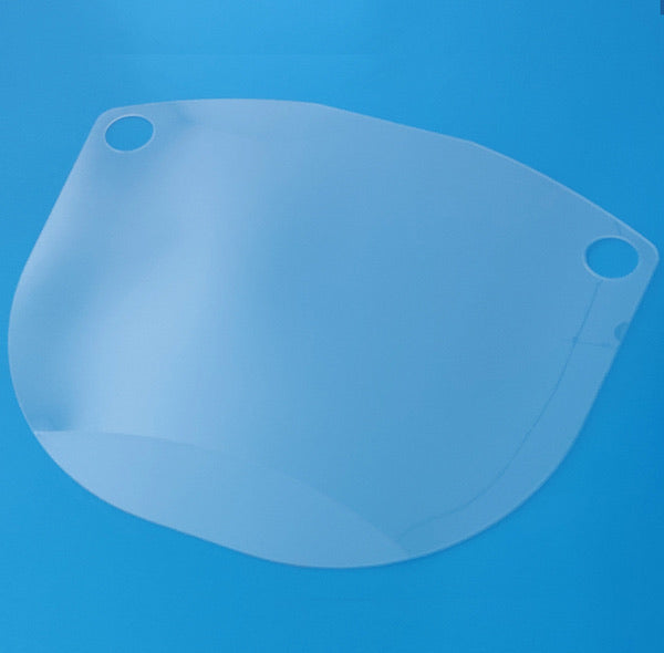 PET Replacement Shield for TGA Approved Aust. Made Face Shield