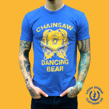 Load image into Gallery viewer, Chainsaw Dancing Bear T