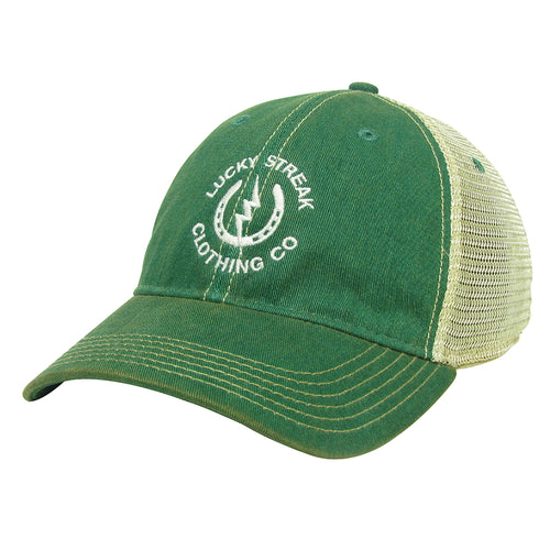 LS Trucker Hat Kelly Green