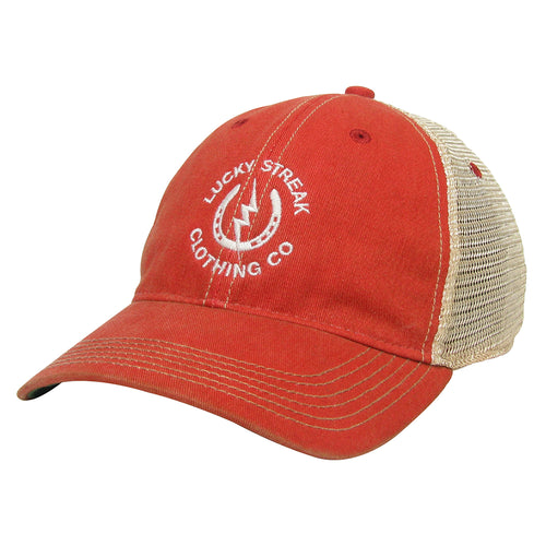 NEW LS Trucker Hat Scarlet