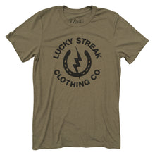 Load image into Gallery viewer, OD Green Lucky Streak Logo T
