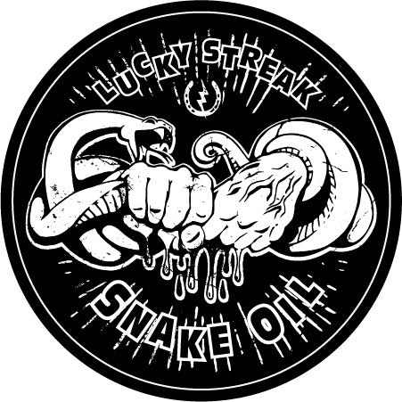 Snake Oil Sticker