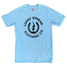 Load image into Gallery viewer, Blue Lucky Streak Logo T