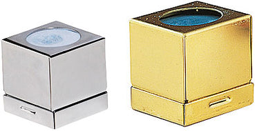 Brass or Chrome Chalk Box Holder