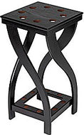 Cuestix Midnight Floor Rack, Holds 8 Cues 12(d) x 24(h) x 12(w)
