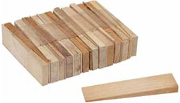 Wooden Table Shims (Set of 25)