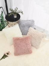 Load image into Gallery viewer, Faux Fur Decorative Pillow