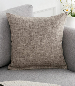 Grey Patch Pillow