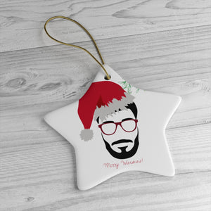 Mr. B' Christmas Tree Ceramic Decoration