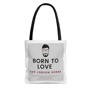 Born To Love The Jobson Horne Tote Bag- USA SHIPPING ONLY