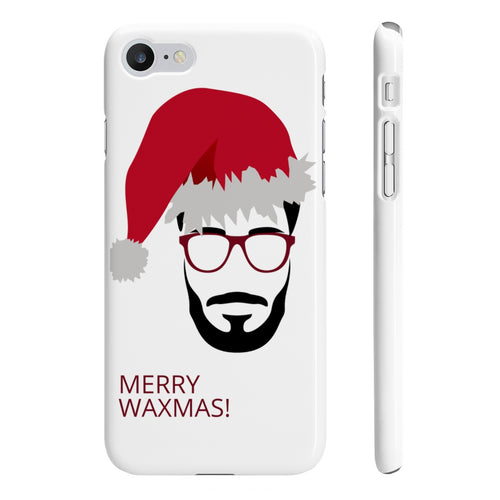 Mr B' Merry Waxmas Slim Phone Cases