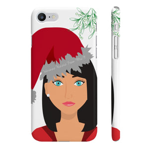 Mrs B' Merry Waxmas Slim Phone Cases