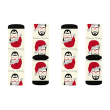 Load image into Gallery viewer, Waxmas Mr B' Socks- USA SHIPPING ONLY