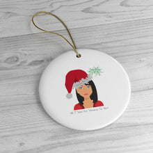 Load image into Gallery viewer, Mrs B' Christmas Tree Ceramic Decoration