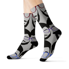 Load image into Gallery viewer, Mr B' Grey Socks- USA SHIPPING ONLY