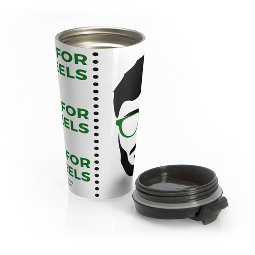 Feels For The Peels Stainless Steel Travel Mug