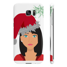 Load image into Gallery viewer, Mrs B' Merry Waxmas Slim Phone Cases
