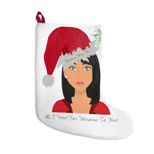 Load image into Gallery viewer, Mrs B' All I Want For Waxmas Christmas Stockings (USA)