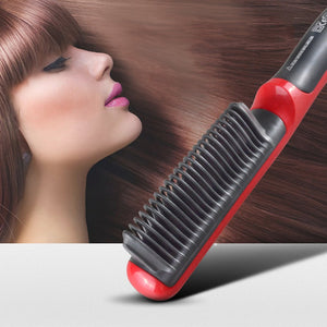 """Makes My Hair Straight and Soft The Way I Want!"" ~ Stacey, Hair Straightening Styler Customer"
