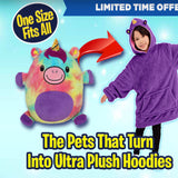 Limited Time Supply - Cute Pets Hoodie - One Size Fits All!