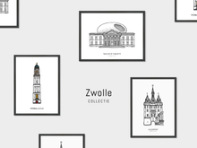 Load image into Gallery viewer, Poster Zwolle, Museum de Fundatie
