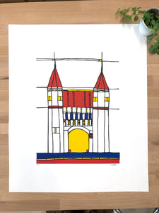 Screenprint Amersfoort, Koppelpoort A4