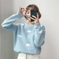 knit cloud sweater