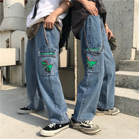 90s dino jeans