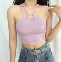 heart halter top